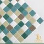 Pastilha Adesiva Resinada 28x28cm Maresia - PPR096