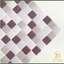 Pastilha Adesiva Resinada 28x28cm Uva Silvestre - PPR180