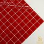 Pastilha Adesiva Resinada  28x28cm Vermelho Amor -PPR304