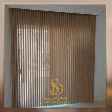 Persiana Vertical de PVC Estampas Texturas - Promoção