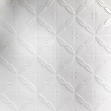 Painel 3D Art Nouveau Branco Auto Adesivo 70x70 - Ref. 38600701B