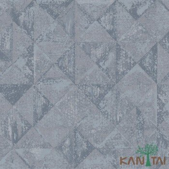 Papel de Parede Geométrico, Textura Velvet REF:VE860404K