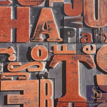 Papel de parede Letras Stone Age 2 Ref. SN604404