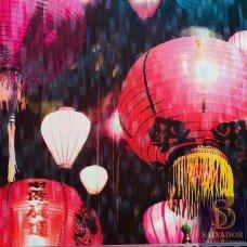 Papel de parede Balões Lanterna Chinês Stone Age 2 Ref. SN606301
