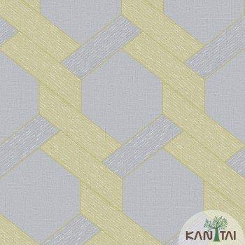 Papel de Parede Geométrico Yoyo Ref.YY221801R