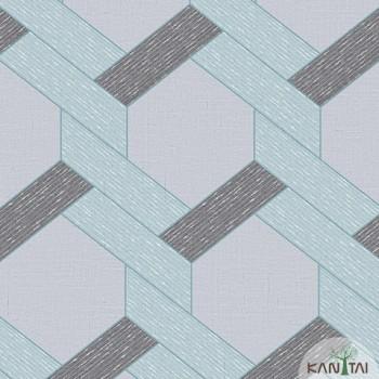 Papel de Parede Geométrico Yoyo Ref.YY221802R
