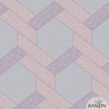 Papel de Parede Geométrico Yoyo Ref.YY221804R