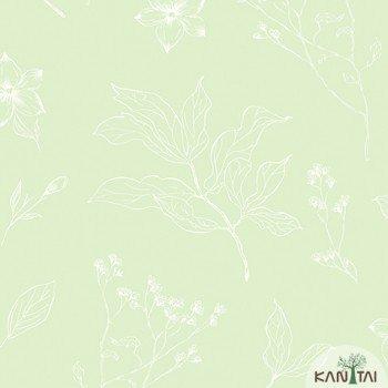 Papel de Parede Floral Yoyo Ref.YY222604R