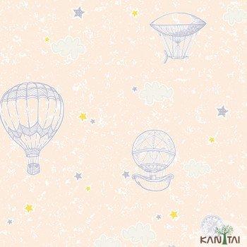 Papel de Parede de Parede Balão, Estrela, Nuvem Yoyo Ref.YY222703R